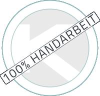 100% Handarbeit